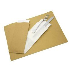 Straw paper placemats
