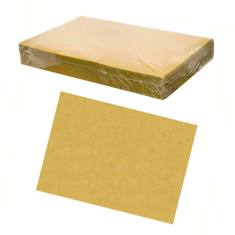Disposable straw paper placemats