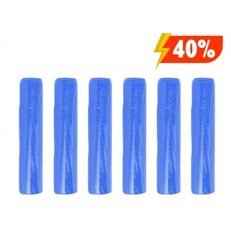 Light blue garbage bags for waste collection cm 70x110 110LT