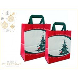 Paper bags fantasy decorated Christmas Tree