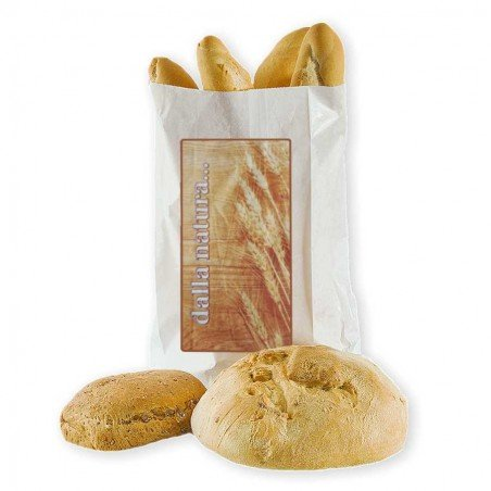 Paper bags for bread and food