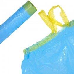 Dustbin bags with handles