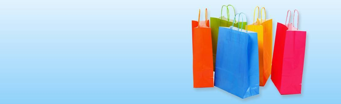 Accessories for shop counter, packaging and shopping
